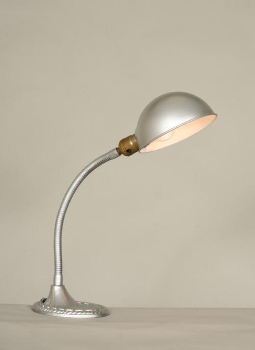 Vintage Gooseneck Desk Lamp Personal Desk Calendar