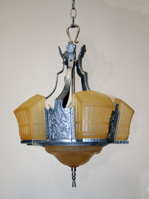 Vintage Restored Ceiling Light Fixtures | Antique Ceiling Fixtures