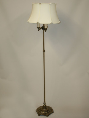 Restored Vintage Amp Traditional Floor Lamps Antique Floor