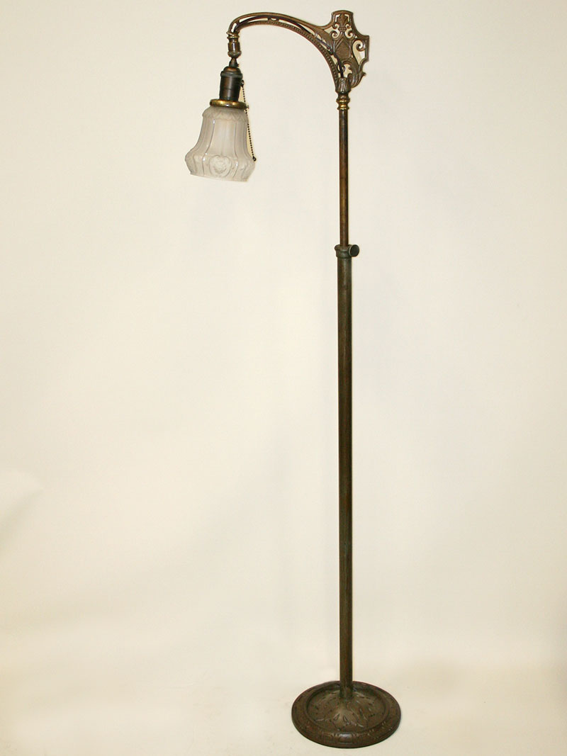 1920s Spanish Revival Bridge Arm Floor Lamp W Sheffield