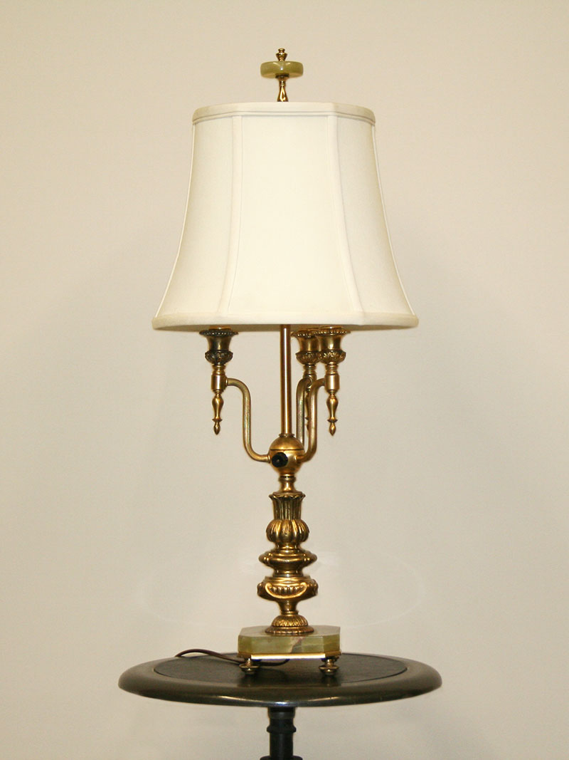 Green Onyx Floor Lamp